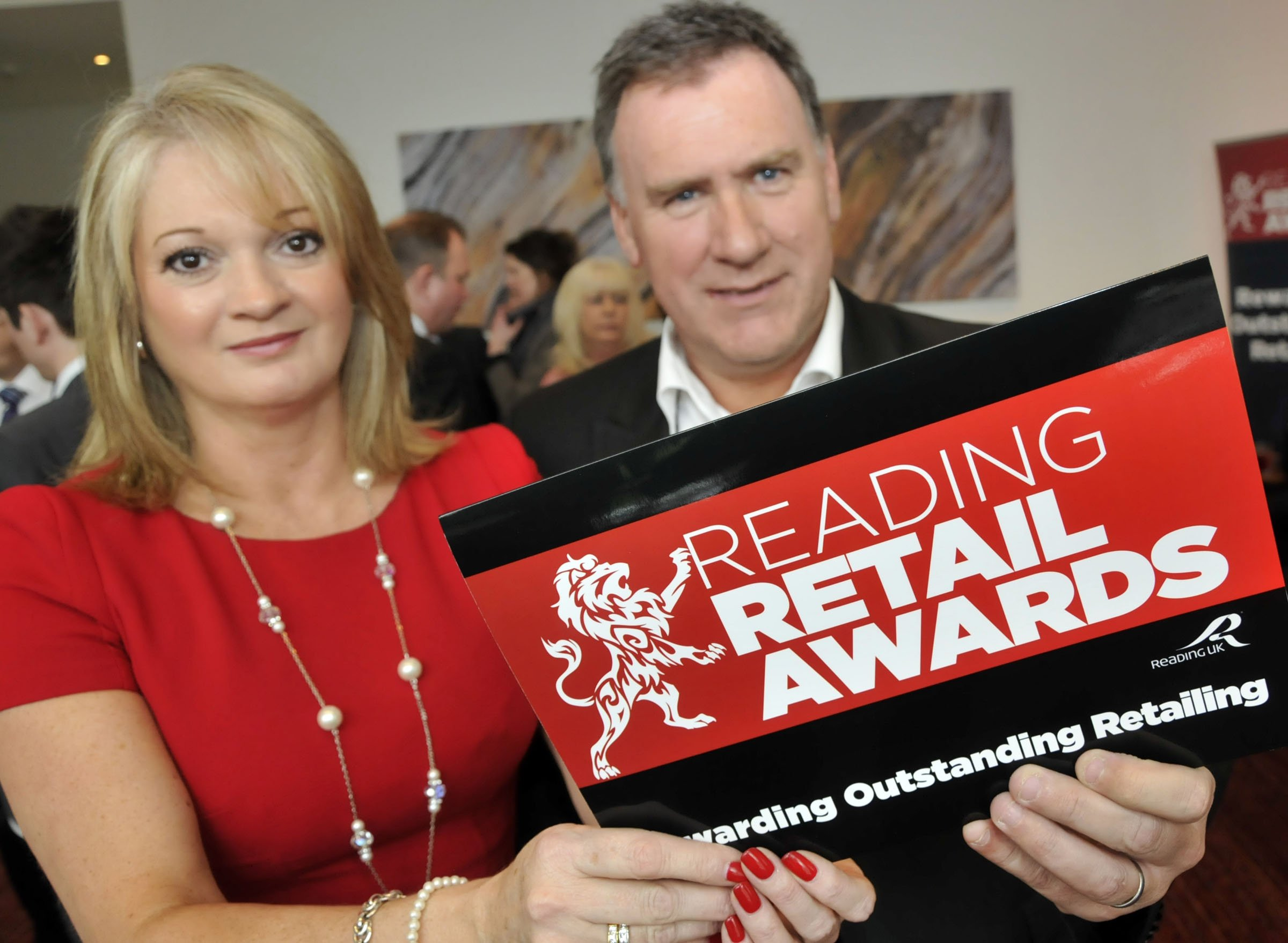 130924 Reading Retail Awards Launch at The Hilton Hotel Reading - Mike Swift 6/3/2013 Last years winners